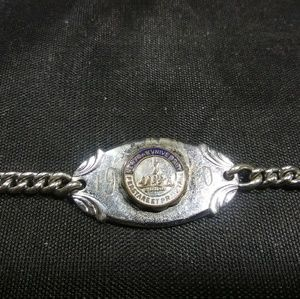 Vintage New York University bracelet 1940